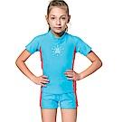 沙兒斯 兒童泳裝 防曬兩件式兒童泳裝