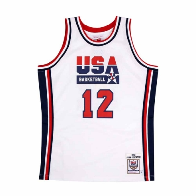 M&N Authentic球員版復古球衣 92 Dream Team #12 John Stockton