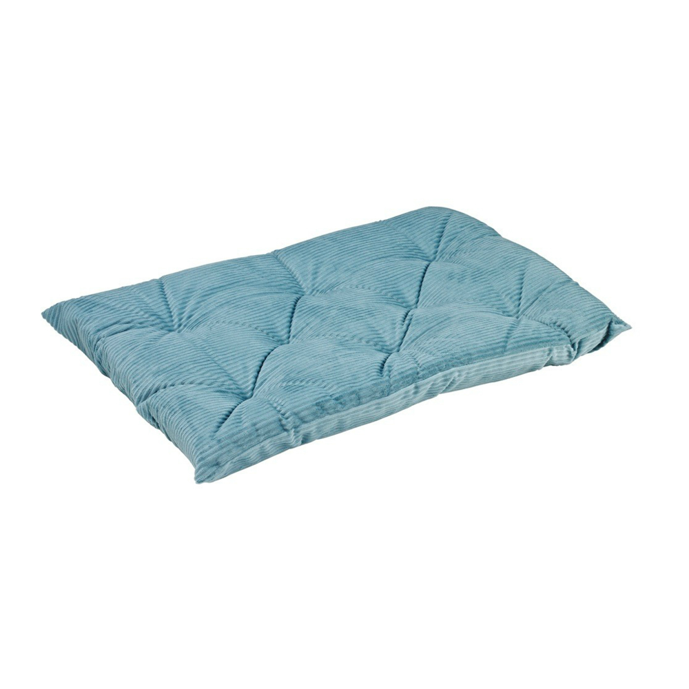 BOWSERS加厚極適寵物睡墊-水藍燈芯絨M