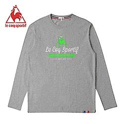 le coq sportif 法國公雞牌長袖T恤 男-灰