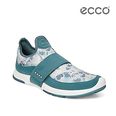 ECCO BIOM AMRAP 輕量360度環繞運動訓練鞋-湖水綠