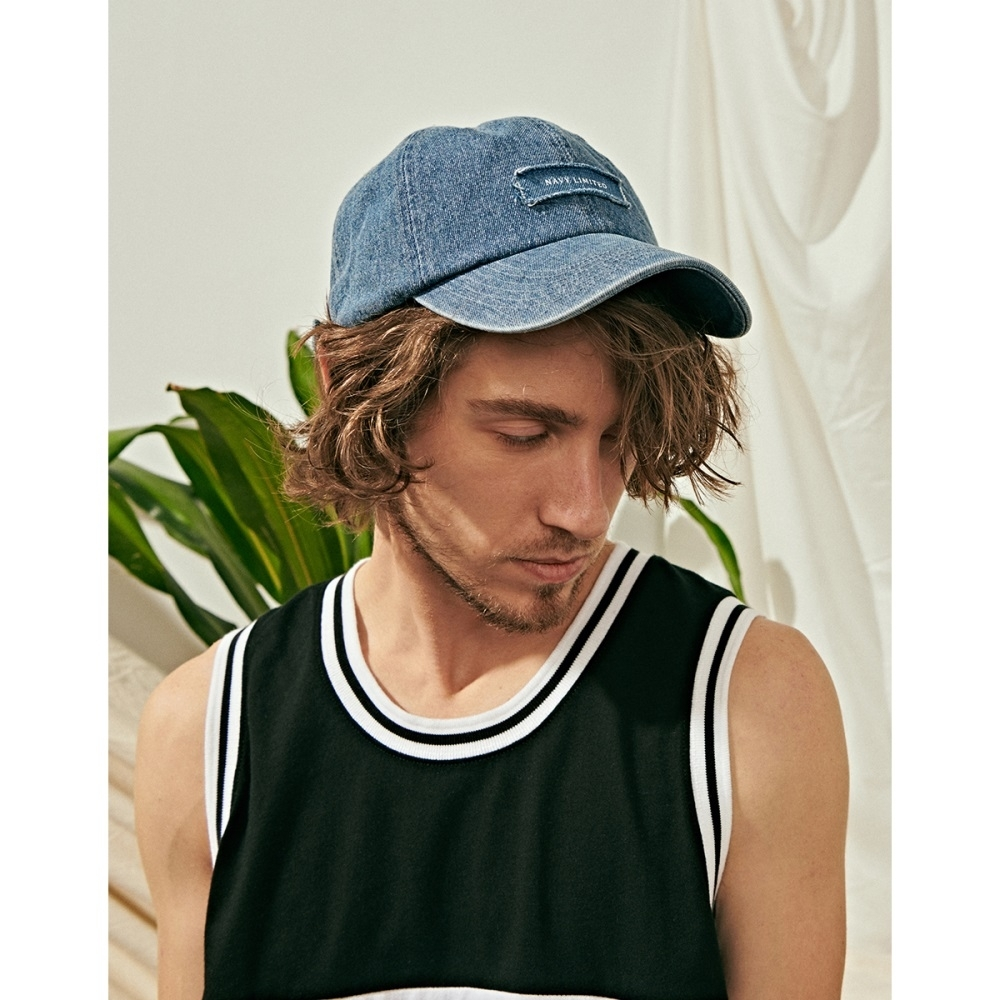 NAVY-水洗牛仔老帽(兩色)-男【SNA070】