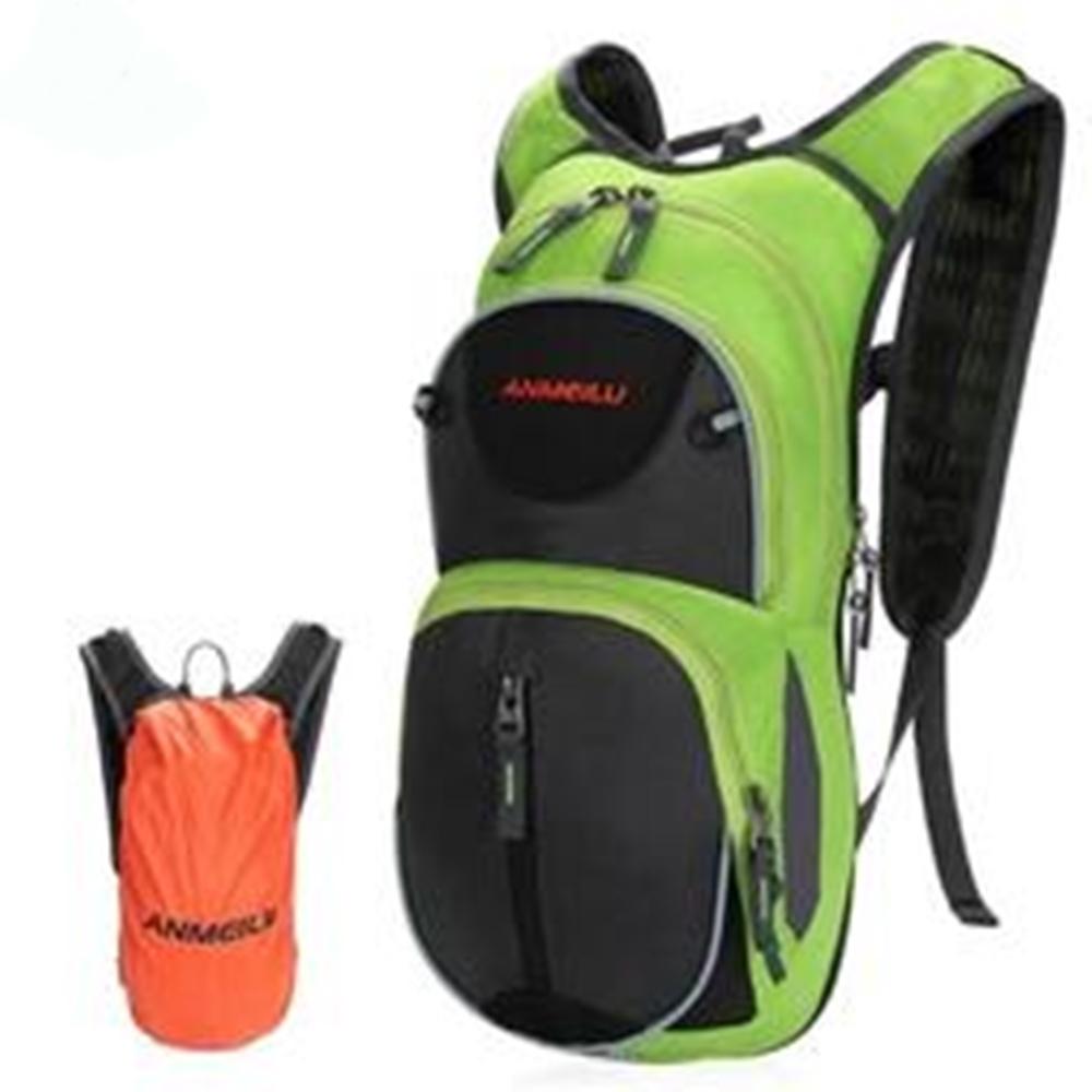 ANMEILU戶外雙肩騎行背包1010(15L,附防雨罩及頭盔網,不含水袋)