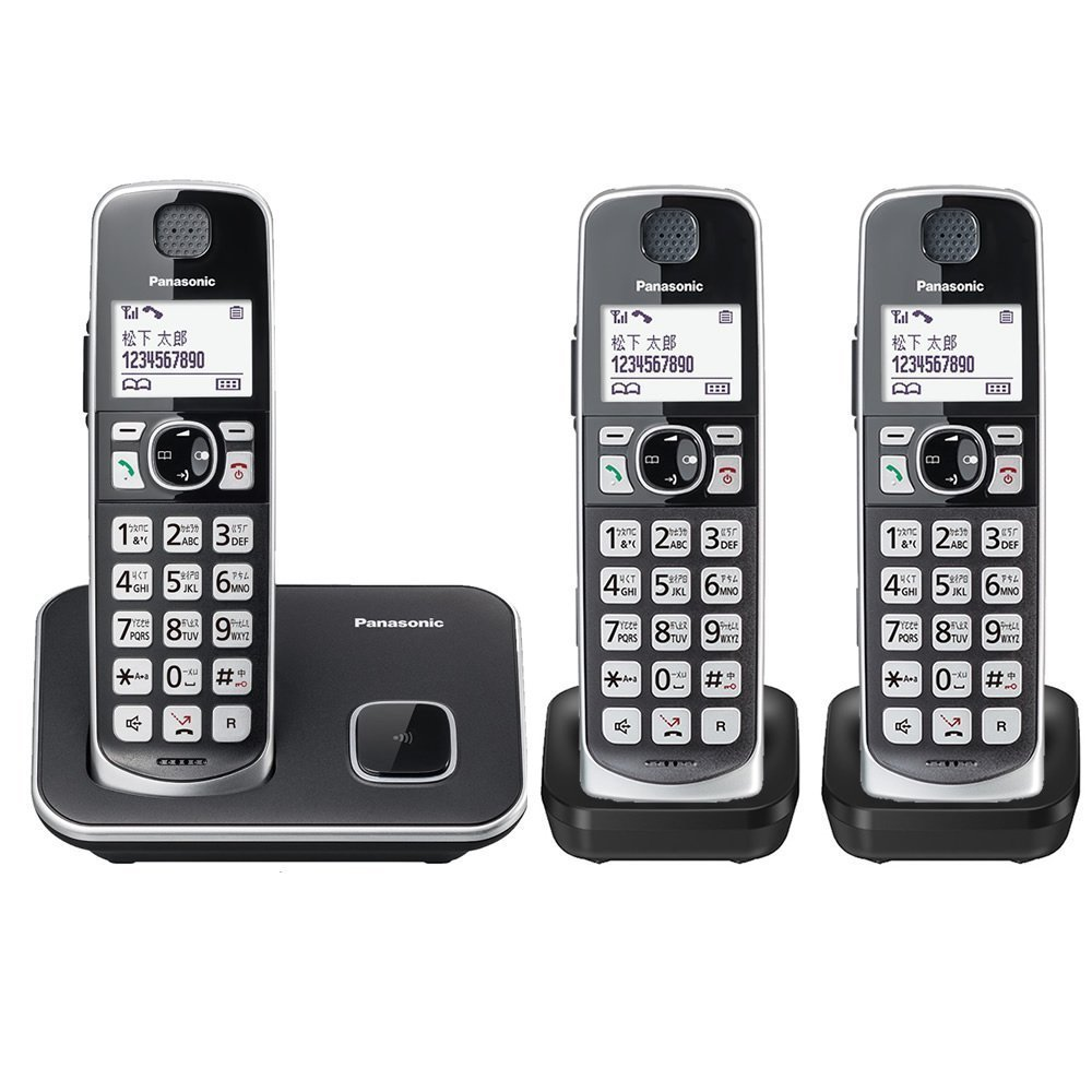Panasonic 國際牌 DECT 中文數位無線電話 KX-TGE613 TW