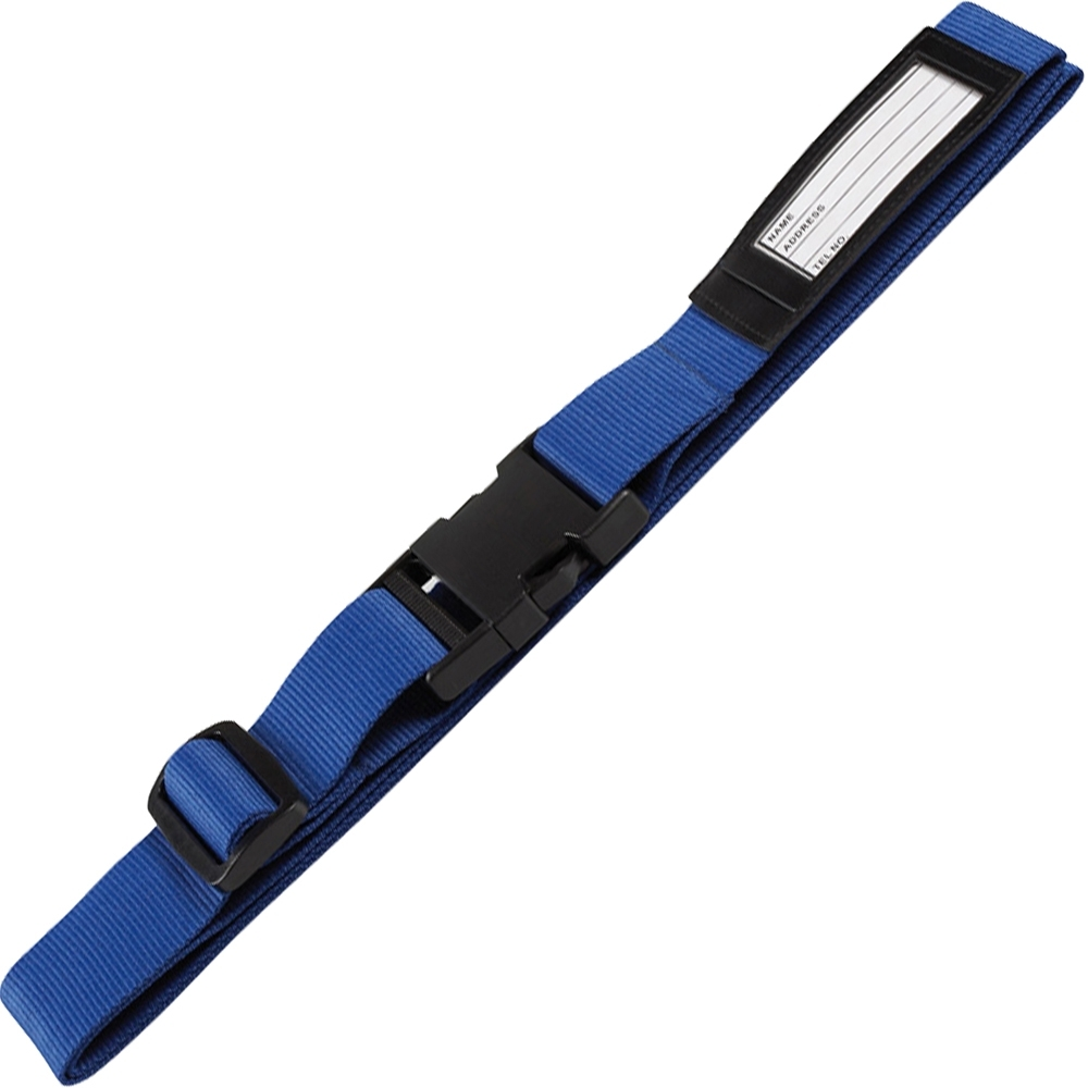 《REFLECTS》簡約行李綁帶(藍)