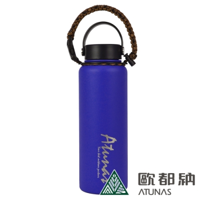 【ATUNAS 歐都納】不鏽鋼運動真空保溫瓶1100ml(A1KTAA04N天藍)