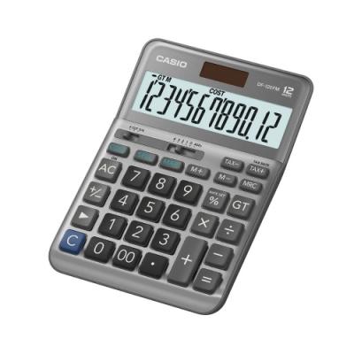 CASIO卡西歐-12位數稅率型商用計算機(DF-120FM)