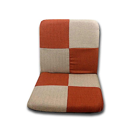 Gloria  方塊 舒適輕巧防潑水和室椅 橘米