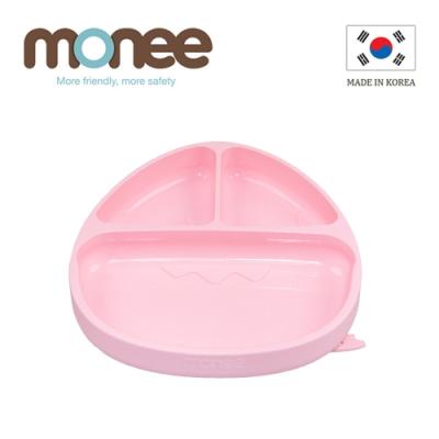 韓國monee 100%白金矽膠恐龍造型可吸式白金矽膠餐盤/3色