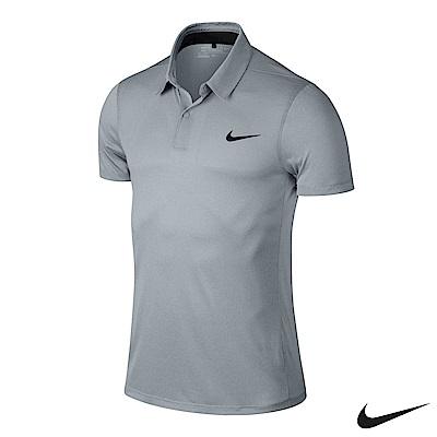 Nike Golf 排汗素面短袖POLO衫 灰 727103-012