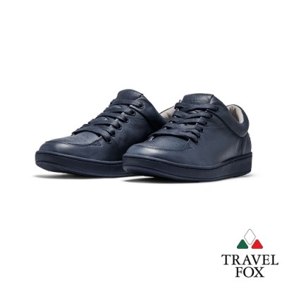 TRAVEL FOX(男)Classic 900 Low低筒經典休閒鞋 -藍