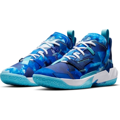 NIKE 籃球鞋  運動鞋 包覆 緩震 男鞋 藍 DM1290401 JORDAN WHY NOT ZER0.4 PF