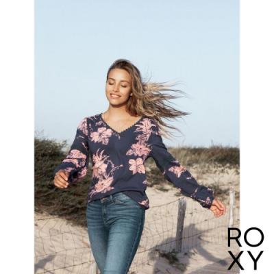 【ROXY】SALTWATER SOUND 時尚上衣 海軍藍