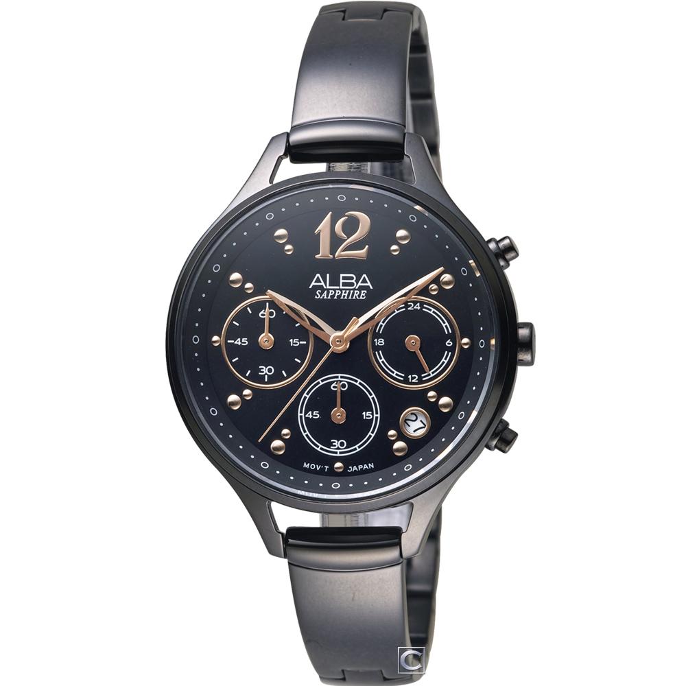 ALBA 雅柏 俏皮手環式時尚腕錶(AT3F19X1)36mm
