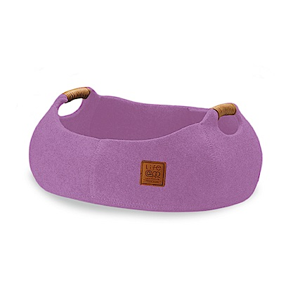 Lifeapp 貓咪籃子-薰衣紫