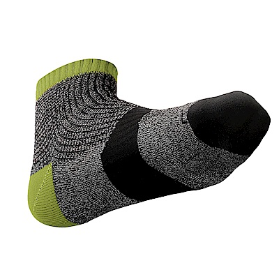 【ZEPRO】男女運動專業慢跑襪-綠