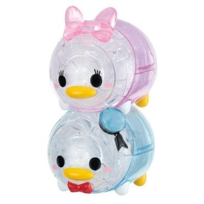 日本 Hanayama 迪士尼 3D水晶拼圖- Tsum Tsum 唐老鴨&黛西