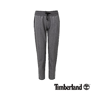 Timberland 女款深色木炭石南花舒適休閒運動褲|B3201