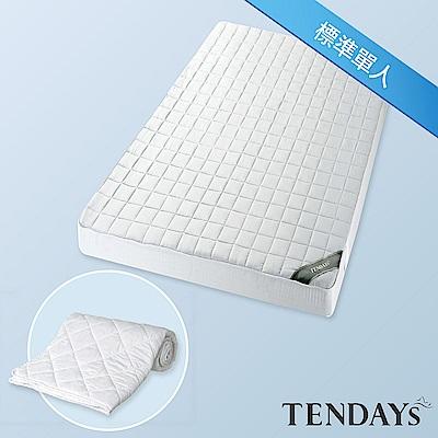 TENDAYS 備長炭床包型保潔墊 標準單人3尺