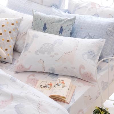 OLIVIA  小雷龍 標準雙人床包美式枕套三件組 230織天絲TM萊賽爾 台灣製