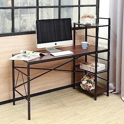 BuyJM瑞克雙向層架工作桌/書桌寬120公分-DIY