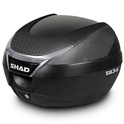 SHAD SH34 後行李箱置物箱漢堡箱