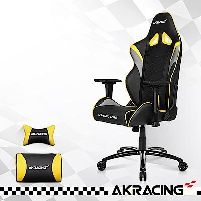 AKRACING-超跑電競椅GT33 Overture-銀x黃 @ Y!購物