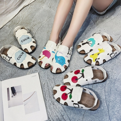 KEITH-WILL時尚鞋館獨家款破盤日系清晰卡通娃娃鞋