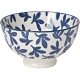 《NOW》瓷製餐碗(湛藍花11.5cm) product thumbnail 1