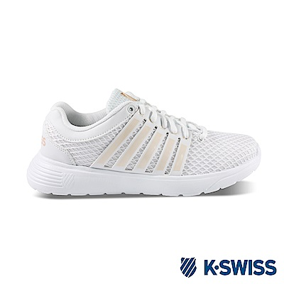 K-Swiss Motivate休閒運動鞋-女-白/玫瑰金