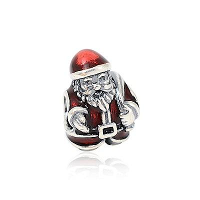 Pandora 潘朵拉 魅力聖誕老人 純銀墜飾 串珠