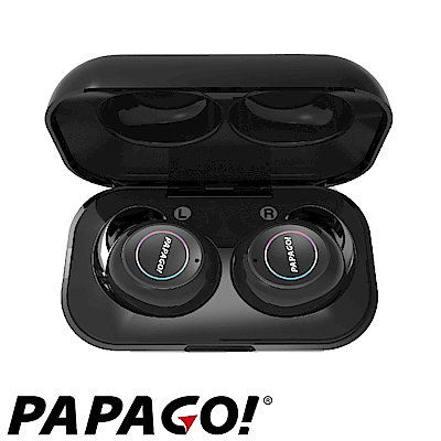 PAPAGO! W2 真無線直覺式觸控藍牙耳機-快