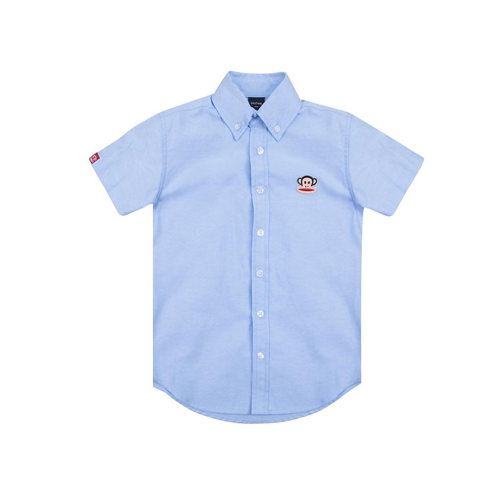 paul frank 牛津短袖襯衫-淺藍(童)