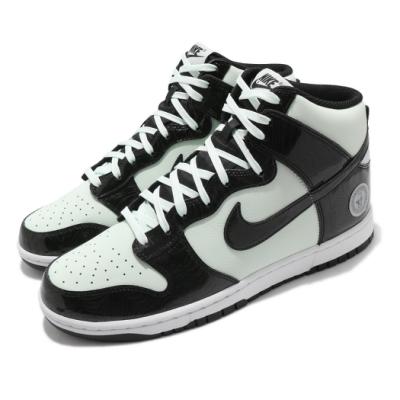 Nike 休閒鞋 Dunk Hi 運動 男女鞋 經典款 高筒 明星賽 情侶穿搭 質感 綠 黑 DD1398300