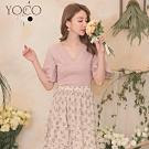 東京著衣-YOCO 簡約百搭多褶造型純棉質感多色上衣-S.M.L(共三色)