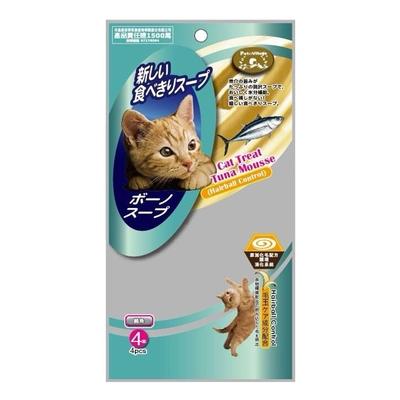 Pet Village魔法村-貓專用化毛配方慕斯泥 14公克X4入/56公克 12包組