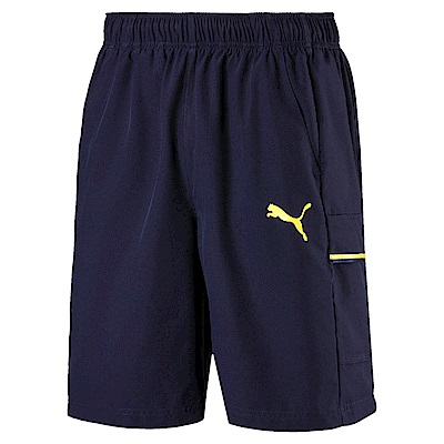 PUMA-男性基本系列Tec Sports 9吋短風褲-重深藍-亞規
