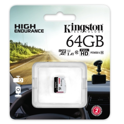金士頓 Kingston High Endurance microSDXC 64G 高耐專用記憶卡 SDCE/64GB U1 A1