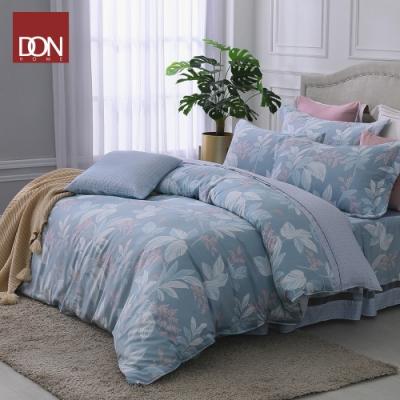 DON淺淺思念 加大六件式吸濕排汗天絲兩用被床罩組