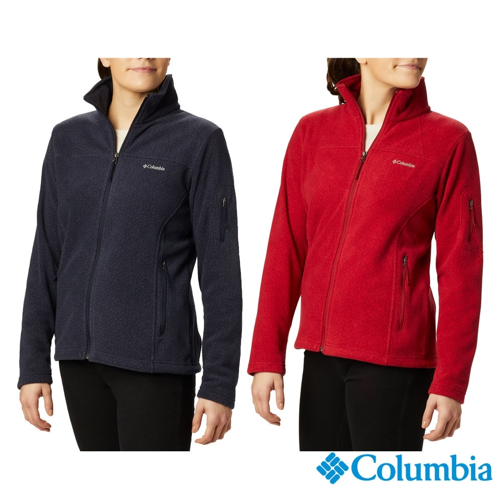 Columbia 哥倫比亞 女款- 立領刷毛外套- 2色 UER10120