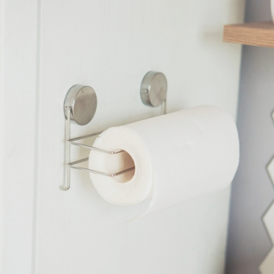 完美主義 捲筒紙巾架/不鏽鋼/吸鐵-26.5X10.5X14