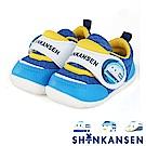 (雙11)ShinKanSen新幹線 輕量抗菌防臭電燈學步童鞋-藍