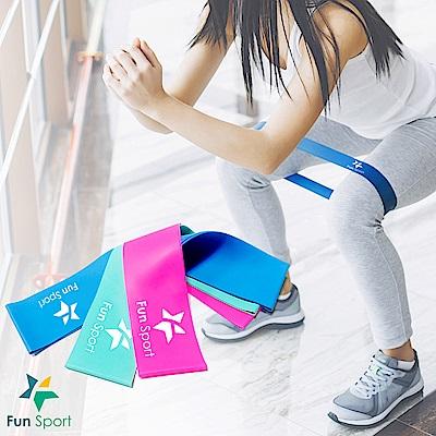FunSport (1入組合)3力道組訓練更完整★樂訓環彈力拉帶
