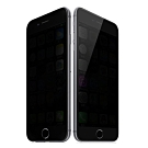 【TOYSELECT】iPhone7/8Plus 極光學10D防窺/抗指紋防刮玻璃膜