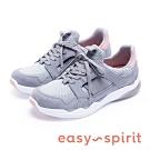 Easy Spirit BEAKER2 經典潮款 綁帶休閒鞋-絨灰