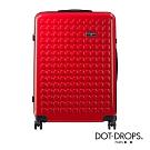DOT-DROPS 28 吋 Chapter 2 輕量客製點點硬殼行李箱 - 熱情紅