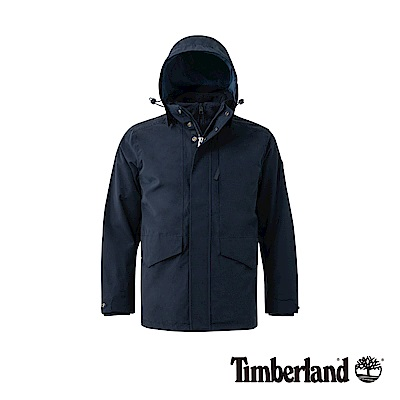 Timberland 男款暗藍色 3合一防水外套|A1NCP