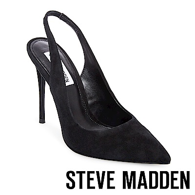 STEVE MADDEN-DULCE 尖頭細高跟涼鞋-黑色