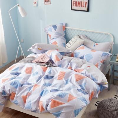 (贈TC枕墊2入) La Lune台灣製精梳棉被套床包組 單/雙/大均價