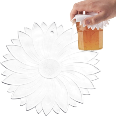 《KitchenCraft》花朵止滑開蓋墊